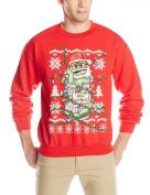 Sesame Street Men's Oscar The Grouch Bah Humbug! Ugly Christmas Sweater