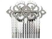 Hair Comb Gorgeous Clear Crystal For Bridal Bridesmaid Wedding Party Prom