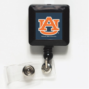 Auburn Tigers Official NCAA 2.5cm x 2.5cm Retractable Badge Holder Key Chain Keychain by Wincraft