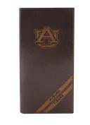 NCAA Auburn Tigers Zep-Pro Pull-Up Leather Long Secretary Embossed Wallet, Brown