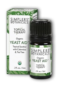 Yeast Aid Simplers Botanicals 5 ml Liquid