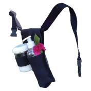 Royal Massage Double Adjustable Massage Oil + Lotion Holder, Black