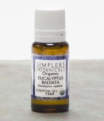 Simplers Botanicals Essential Oil, Eucalyptus Radiata, 15ml