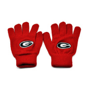 Georgia Bulldogs Official NCAA Knit Gloves by Top of the World 377371
