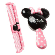Disney Minnie Mouse Infant Girl's Brush & Comb Set