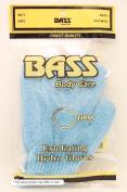 Nylon Scrub Gloves 100% Nylon Medium Extra Thick Bass Brushes 1 Gloves