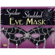 Studded Spider Eye Mask