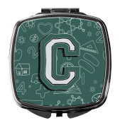 Letter C Back to School Initial Compact Mirror CJ2010-CSCM