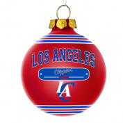 Los Angeles Clippers Official NBA 7.6cm x 7.6cm 2014 Year Plaque Ball Ornament by Forever Collectibles