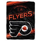 The Northwest Company NHL Philadelphia Flyers Stamp Raschel Throw, 150cm by 200cm