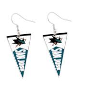 Aminco San Jose Sharks NHL Pennant Earring