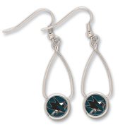San Jose Sharks Official NHL 2.5cm Earrings by Wincraft