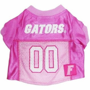 Mirage Pet Products Florida Gators Jersey for Dogs and Cats, Large, Pink