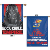 Kansas Jayhawks Official NCAA 70cm x 100cm Star Wars Darth Vader Two Sided Vertical Flag by Wincraft