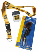 Missouri Tigers SC Sports Mirror Pen Magnetic Clip and Lanyard Set