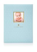 Pearhead Sweet Welcome Baby Book - Blue