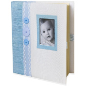 Baby Essential Blue Baby Memory Book