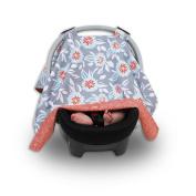 Balboa Baby Car Seat Canopy - Grey Dahlia