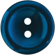 Slimline Buttons Series 1-Navy 2-Hole 3/4 5/Card Multi-Coloured