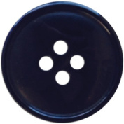 Slimline Buttons Series 1-Black 4-Hole 3/4 3/Card Multi-Coloured