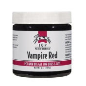 Top Performance Dog Hair Dye Gel, 120ml, Vampire Red