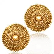 Indian kundan earrings Indian jewellery ethnic Indian earrings