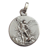 925 Sterling Silver Saint Michael The Archangel Medal