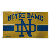 Notre Dame Fighting Irish Official NCAA Vault Deluxe Banner Flag Wincraft 086433