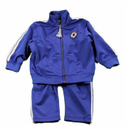 Converse Infant/Toddler Boy's Blue Track Pant & Jacket 2-Piece Set Sz