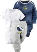 Carters Baby Boys 3-pc. Seagull Dude Bodysuit Set
