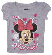 Minnie Mouse Hearts Toddlers Girls T-Shirt - 2T