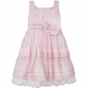 Isobella & Chloe Baby Girls Light Pink Empire Waist Party Dress 24M