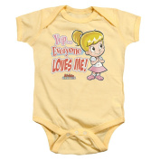Archie Babies Everyone Loves Me Unisex Baby Snapsuit Shirt