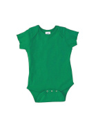 Rabbit Skins Infant Baby Rib Lap Shoulder Bodysuit (Kelly)