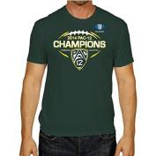 Oregon Ducks Official Locker Room 2014 Pac 12 Football Champions T-Shirt