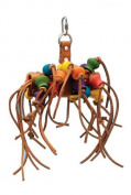 Penn Plax Leather Kabob Bird Toys, 30cm