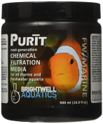 Brightwell Aquatics Purit Chemical Filtration Media for Marine and Freshwater Aquaria, 500 mL