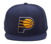 Mitchell & Ness Indiana Pacers Navy Vintage Snapback