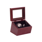 American Chest WW01-M Brigadier Single Watch Winder Mahogany