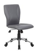 Boss B220-GY Tiffany CaressoftPlus Chair, Grey