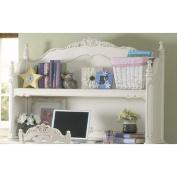 Homelegance Cinderella Writing Desk Hutch in White