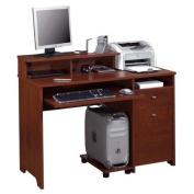 Bestar Legend Computer Work Station in Tuscany Brown