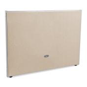 OFM 120cm x 150cm All Vinyl Floor Panel Grey Frame Beige Vinyl P4760-GF-BV