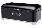 """Kitchen Craft Lovello Bread Bin, 42 x 22 cm (16.5"""" x 8.5"""") - Black"""