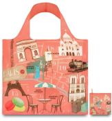 LOQI Urban Reusable Paris Design Tote Shopping Bag