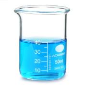 Glass Measuring Beaker 40ml | Low Form Beaker, Measuring Cup, Borosiliate Beaker