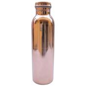 Rastogi Handicrafts Pure Copper Water Bottle for Ayurvedic Health Benefits