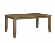 Standard Vintage Dining Table In Grey