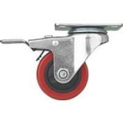 Mintcraft 10cm Swivel Caster W/Brake Pu JC-387-G