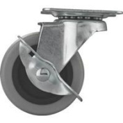 Mintcraft 7.6cm Tpr Swivel Caster W/Brake JC-N06-G